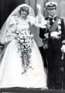 Wedding Of Prince Charles To Lady Diana Spencer Princess Of Wales At St Pauls Cathedral 29th July 1981 Lady Diana Spencer And The Prince Of Wales.