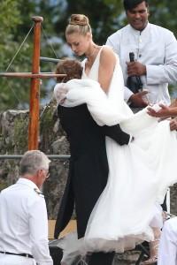 Arrivals At Pierre Casiraghi And Beatrice Borromeo Wedding Ceremony