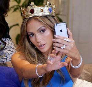 Jennifer Lopez Visits Univisions Nuestra Belleza Latina Mansion
