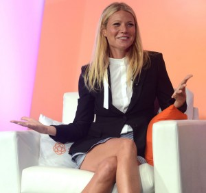 Gwyneth Paltrow Attends #BlogHer15: Experts Among Us