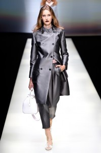 Emporio Armani - Runway - Milan Fashion Week SS16