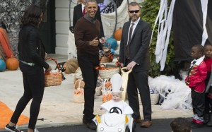 Halloween event at the White House