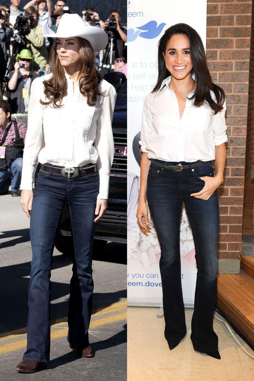 kate-meghan-white-button-down-blue-jeans-1512162286