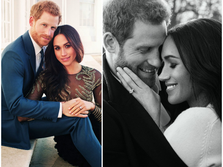 Prince Harry and Meghan Markle  Harpers BAZAAR